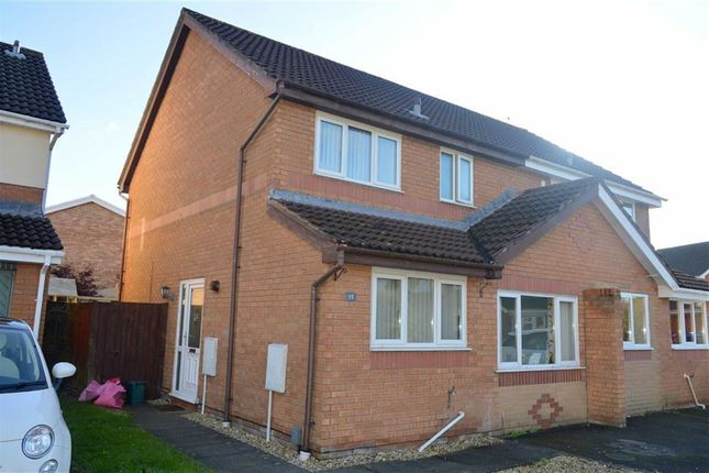 Thumbnail Semi-detached house for sale in Ffordd Y Gamlas, Gowerton, Swansea