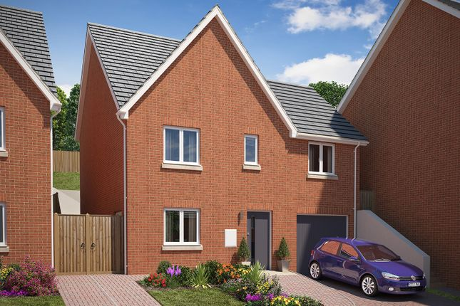 """Thumbnail Detached house for sale in """"The Carlton"""" at Vicarage Hill, Kingsteignton, Newton Abbot"""