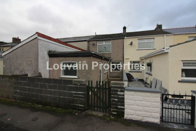 Thumbnail Terraced house to rent in Vale Terrace, Tredegar, Blaenau Gwent.