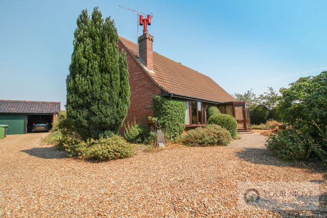 Thumbnail Bungalow for sale in Swan Lane, Barnby, Beccles