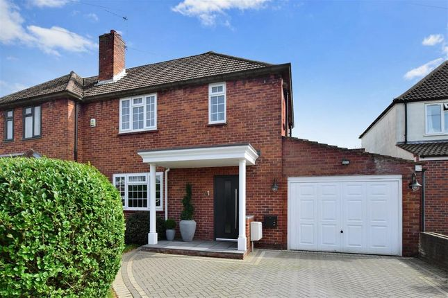 Thumbnail Semi-detached house for sale in Broadway Close, South Croydon, Surrey