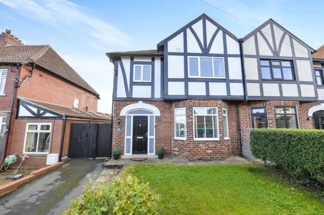 Thumbnail Semi-detached house for sale in Stakesby Road, Whitby, North Yorkshire