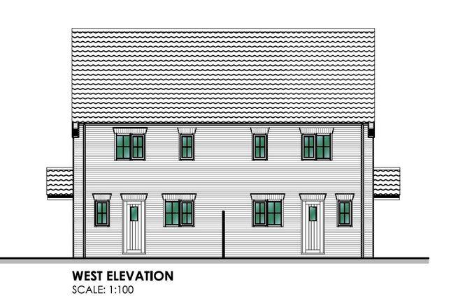Thumbnail Semi-detached house for sale in Back Street, Gayton, King's Lynn