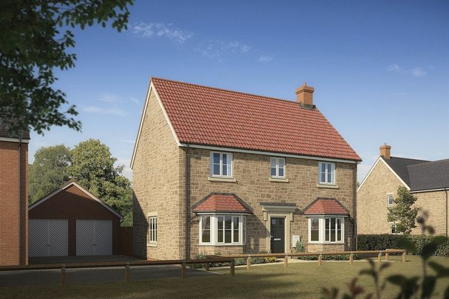 "Thumbnail Detached house for sale in ""The Rougemont"" at Highworth Road, Shrivenham, Swindon"