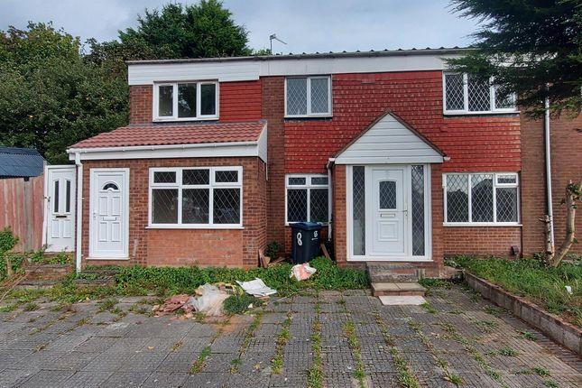Thumbnail Terraced house to rent in Cradley Croft, Handsworth, Birmingham