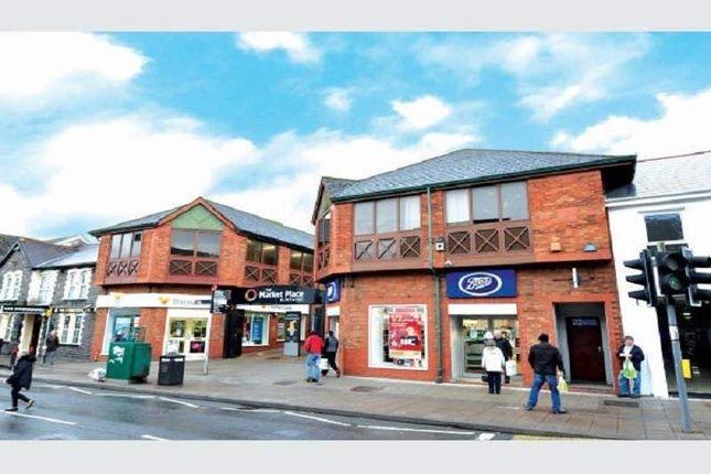 Thumbnail Retail premises for sale in The Market Place, Blackwood