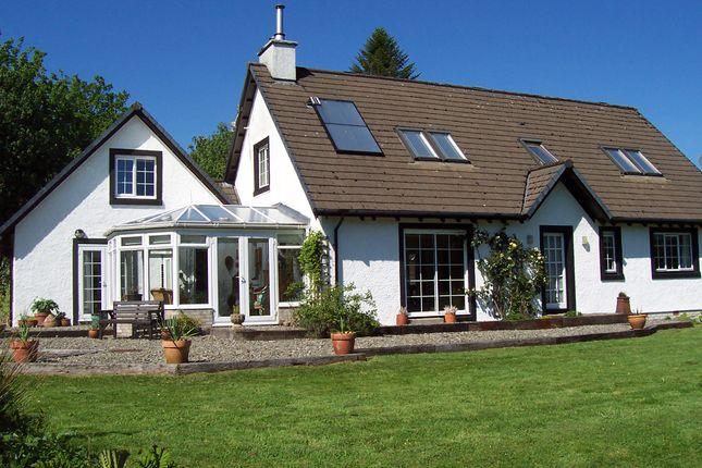 Thumbnail Detached house for sale in Asknish Lochgair, Lochgilphead, Scotland