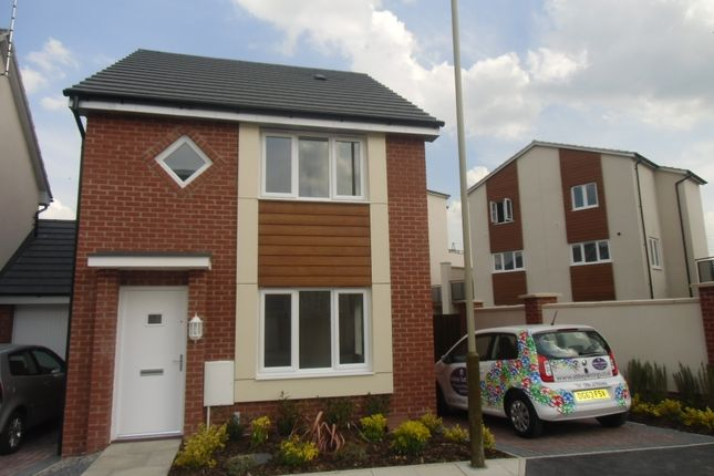 Thumbnail Detached house to rent in Hattersley Way, Leicester