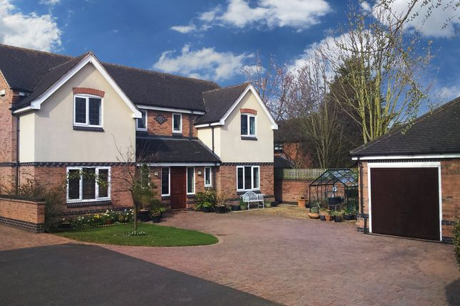 Thumbnail Detached house for sale in The Crescent, Rothley, Leicester