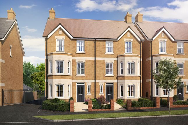 Thumbnail Town house for sale in Plot 64 The Melton, Warwick Avenue, Bedford