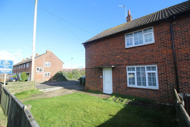 Thumbnail End terrace house for sale in Priory Road, Langney, Eastbourne
