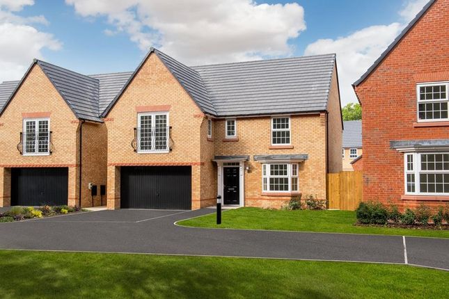 "Thumbnail Detached house for sale in ""Shelbourne"" at Hassall Road, Alsager, Stoke-On-Trent"