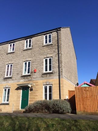 Thumbnail Town house to rent in Worle Moor Road, Weston-Super-Mare