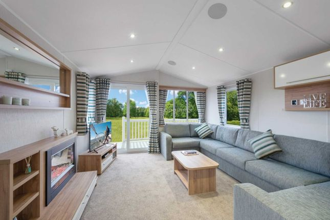 Thumbnail Mobile/park home for sale in Boswinger, St. Austell