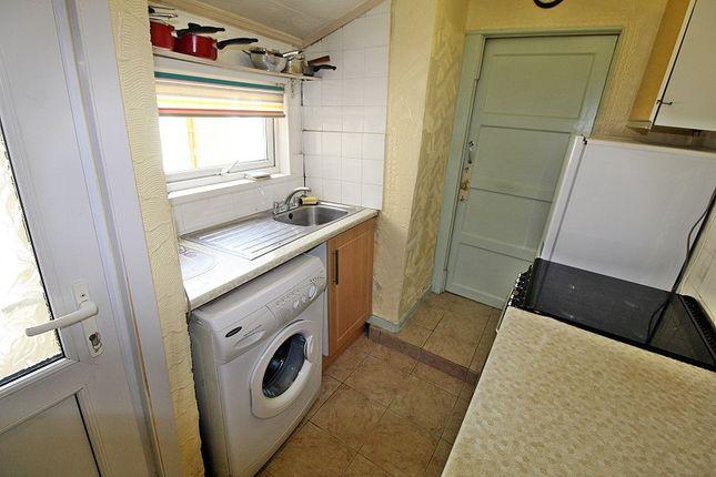 Kitchen of York Terrace, Georgetown, Tredegar, Blaenau Gwent. NP22
