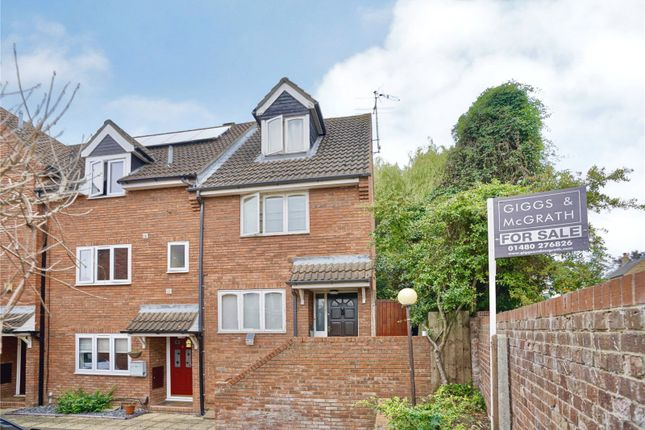Thumbnail End terrace house for sale in Ferrars Court, Huntingdon