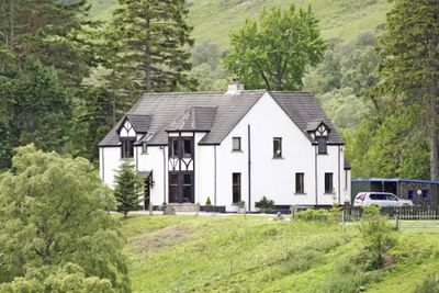 Thumbnail Detached house for sale in Crubenbeg House, Newtonmore