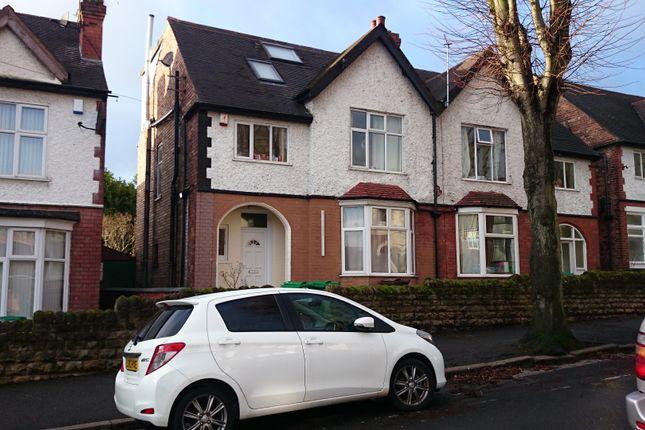 Thumbnail Semi-detached house to rent in Harlaxton Drive, Lenton, Nottingham