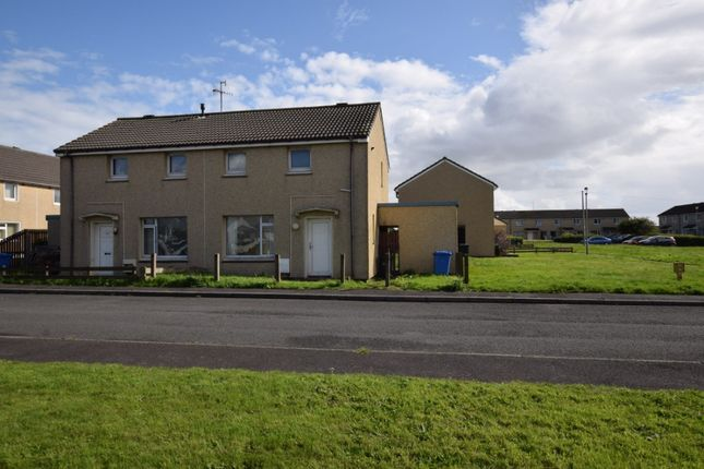 Thumbnail Semi-detached house to rent in Dundonald Crescent, Auchengate, Irvine, North Ayrshire