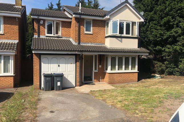 Thumbnail Detached house to rent in Shakespeare Road, Erdington