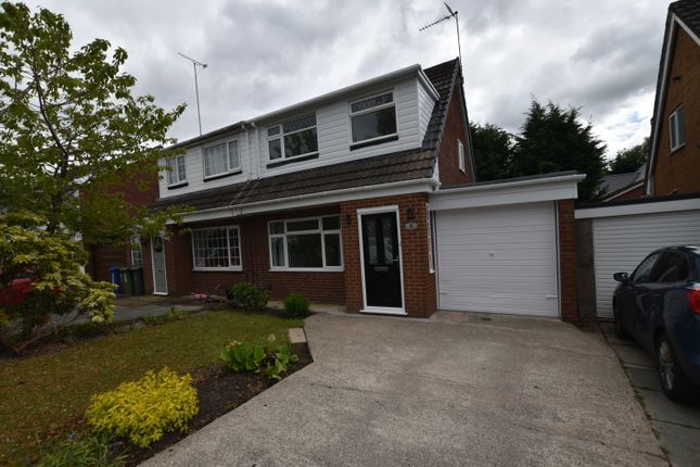 Thumbnail Semi-detached house to rent in Penketh Avenue, Astley, Tyldesley, Manchester