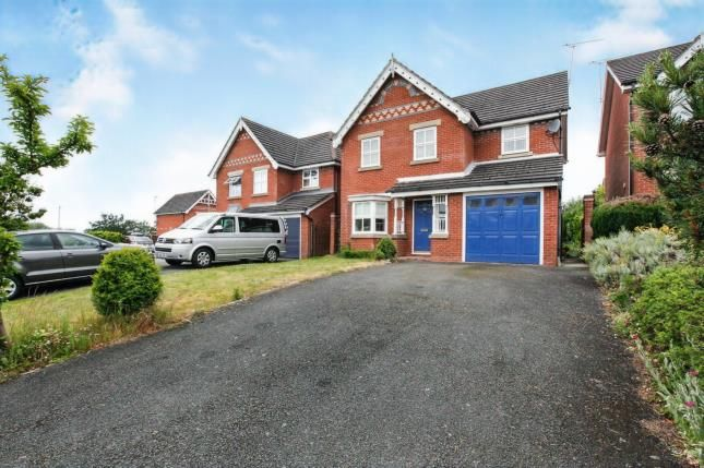 Thumbnail Detached house for sale in Church Way, Wybunbury, Nantwich, Cheshire