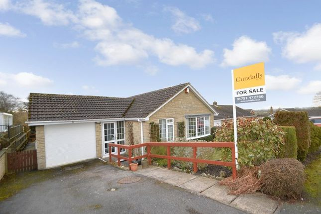 Thumbnail Detached bungalow for sale in Aunums Close, Thornton Dale, Pickering