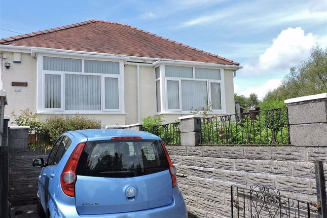 Thumbnail Detached bungalow for sale in Trewyddfa Road, Morriston, Swansea