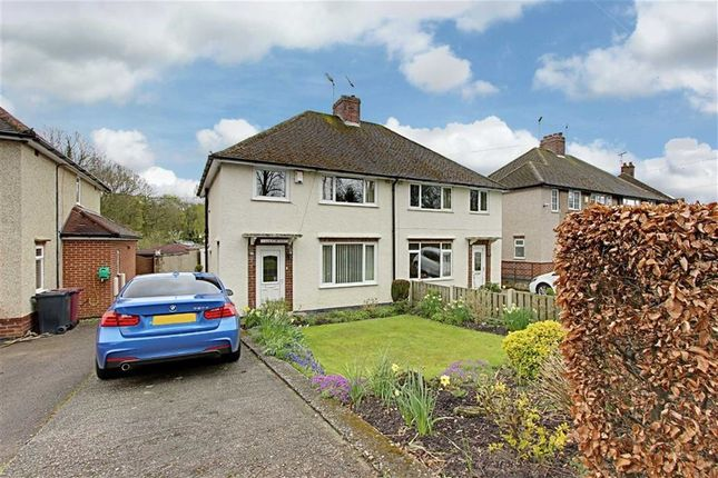 Thumbnail Semi-detached house for sale in Ashover Road, Old Tupton, Chesterfield