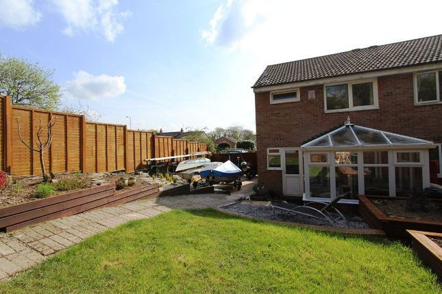 Thumbnail Semi-detached house for sale in Trevithick Avenue, Torpoint