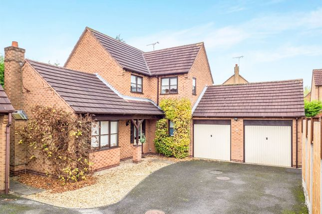 Thumbnail Detached house for sale in Loxley Close, Oakwood, Derby