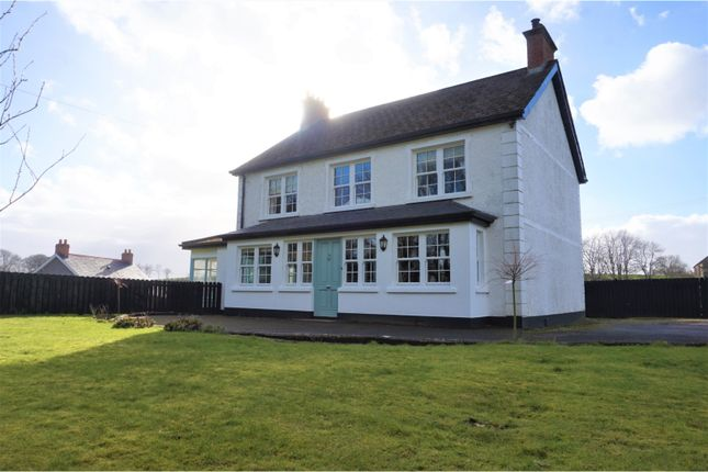 Thumbnail Detached house for sale in Crankill Road, Ballymena