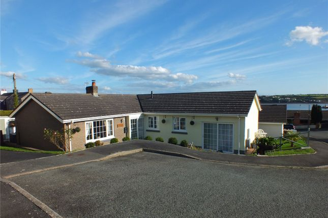 Thumbnail Detached bungalow for sale in Hazel Grove, Llanstadwell, Milford Haven