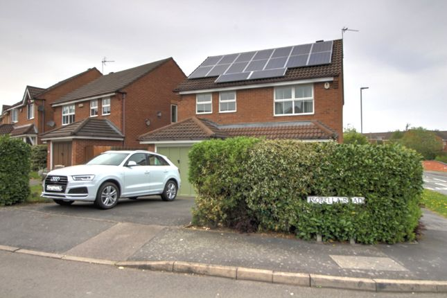 Thumbnail Detached house for sale in Isobella Road, Thorpe Astley, Braunstone, Leicester