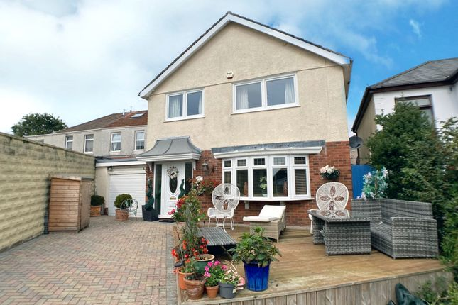 Thumbnail Detached house for sale in Hadland Terrace, West Cross, Swansea