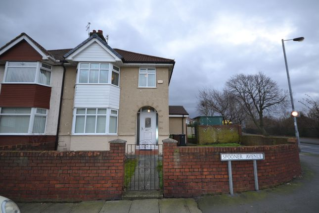 Thumbnail Semi-detached house for sale in Spooner Avenue, Liverpool