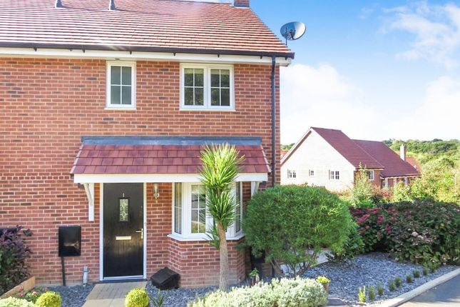 Thumbnail Semi-detached house for sale in Treetops Way, Heathfield