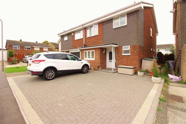 Thumbnail Semi-detached house for sale in Lyndene, Benfleet