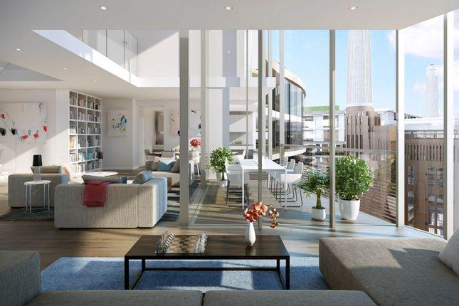 3 bed flat for sale in Battersea Roof Gardens, Battersea Power Station, London SW8