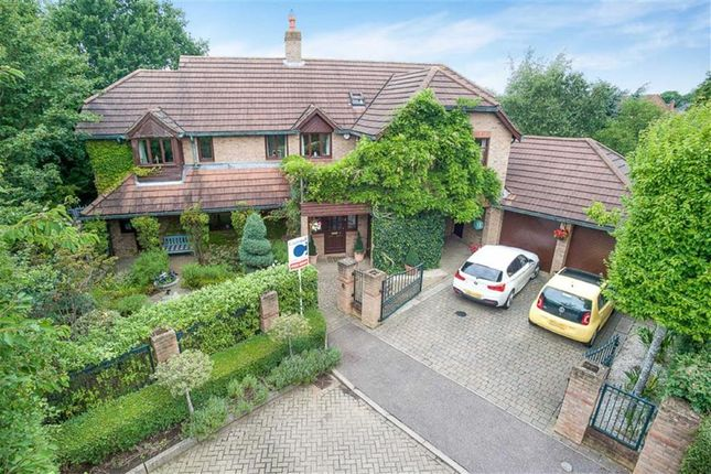 Thumbnail Detached house for sale in Ketelbey Nook, Old Farm Park, Milton Keynes, Bucks