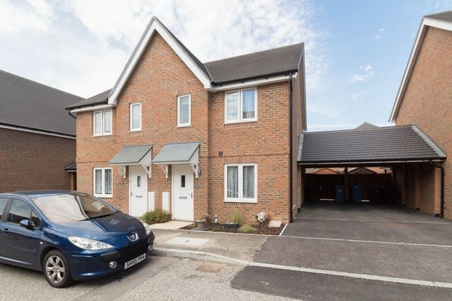 Thumbnail Semi-detached house for sale in Buttercup Avenue, Minster On Sea, Sheerness