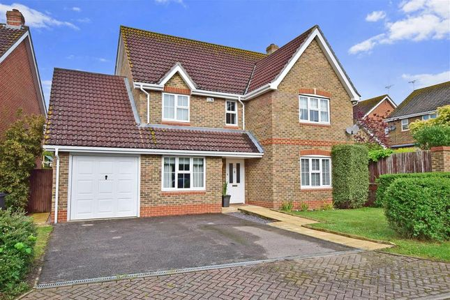 Thumbnail Detached house for sale in Christopher Bushell Way, Kennington, Ashford, Kent