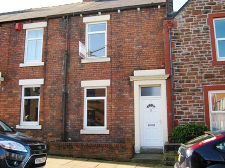 Thumbnail Terraced house to rent in Adelphi Terrace, Carlisle