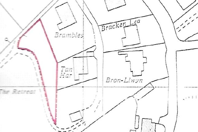 Land for sale in Land To Rear Of, Retreat Road, Penally, Tenby