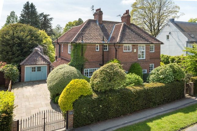 Thumbnail Detached house for sale in Hobgate, York, North Yorkshire