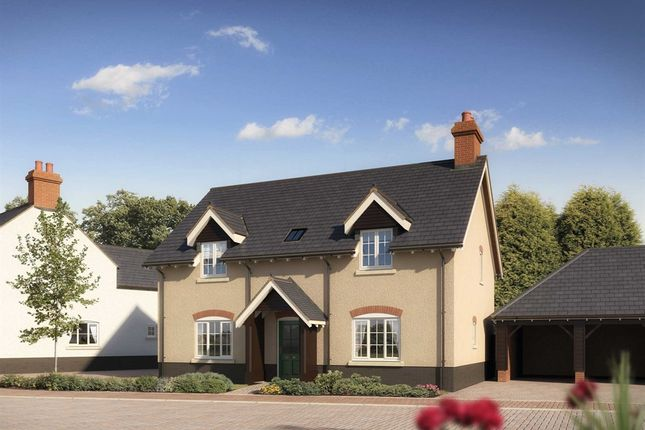 "Thumbnail Detached house for sale in ""The Overton"" at Trem Y Coed, St. Fagans, Cardiff"