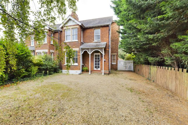 Thumbnail Semi-detached house for sale in Drove Road, Biggleswade, Bedfordshire