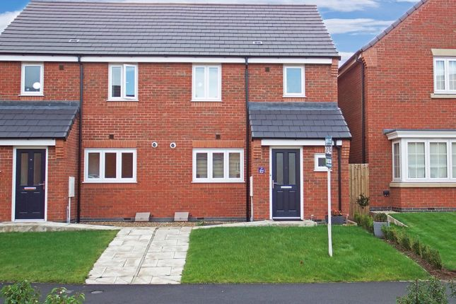 Thumbnail Semi-detached house for sale in Knox Road, Loughborough