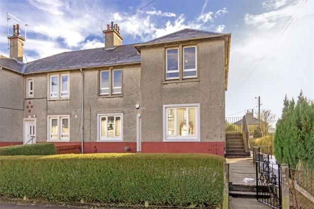 Thumbnail Flat for sale in Lee Crescent, Bishopbriggs, Glasgow