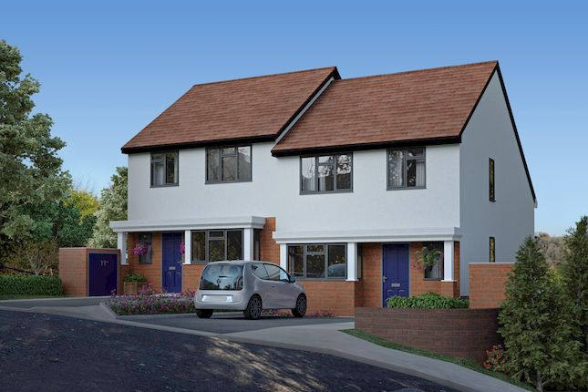 Thumbnail Semi-detached house for sale in Hilltop Road, Whyteleafe